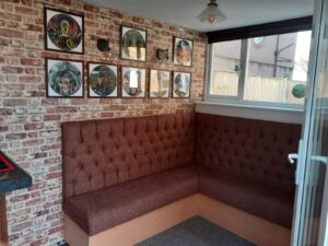 Bench Seating completed in Litherland area, Liverpool